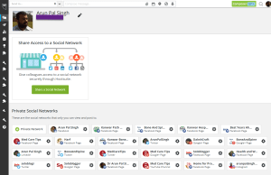 hootsuite network removal