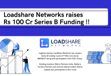 Photo of Logistics Startup Loadshare Networks raises Rs 100 Cr in Series B Funding
