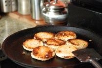 pictures of roasting idli by Arun Shanbhag