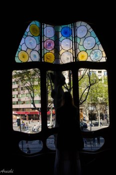 barcelona- casa batllo- window