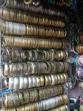 Bangles everywhere!! Commercial street