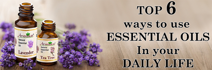 Essential oils in your daily life