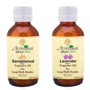 Sandalwood & Lavender Fragrance Oil for Soap Making