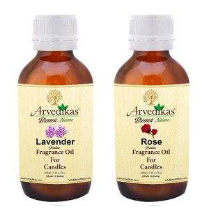 Rose & Lavender Fragrance Oil For Candle Making