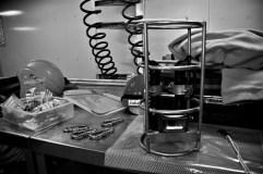 Instruments on deck (Photo: Valentina Lanci).