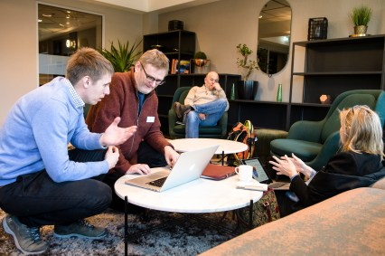 Discussions in working groups (Photo: Lars Åke Andersen, the Nansen Legacy)