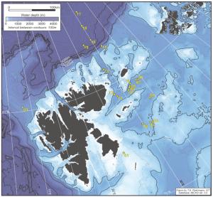 Station map 'Paleo cruise'