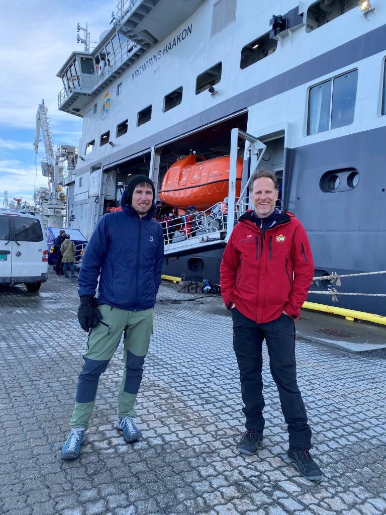 Martin Ludvigsen og Philipp Assmy