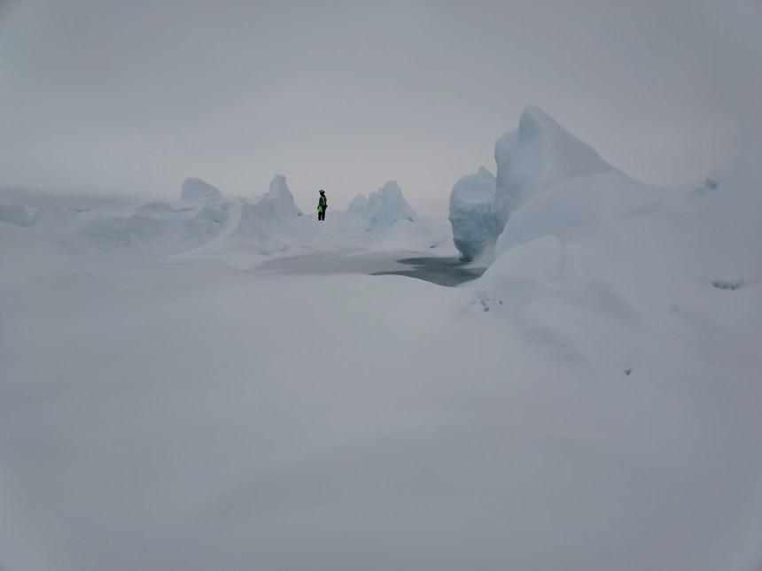 Ice ridges (Photo: Adam Steer, NPI)