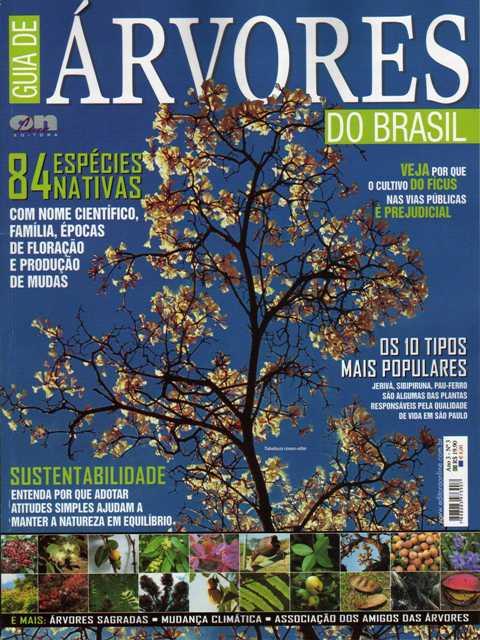 capa Guia de Árvores do Brasil 2009