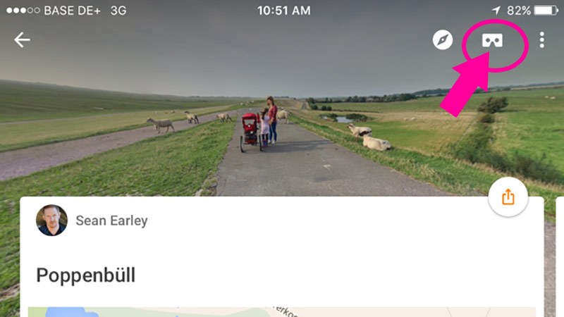 Google Street View App adds Cardboard Support for iOS and Android