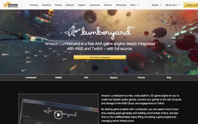 Amazon Releases It's Own FREE Game Engine – Lumberyard