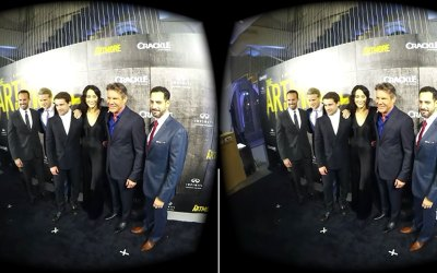 Sony/Crackle Streams THE ART OF MORE Red Carpet Event in live 360° Using Orah 4i