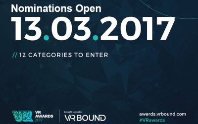 Nominations for the 2017 VR Awards Now Open