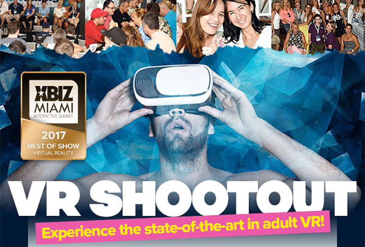XBIZ Miami 2017 To Host VR Shootout (NSFW)