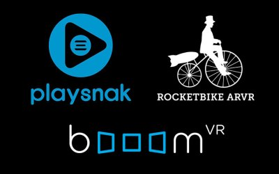 Rocketbike ARVR Partners with Playsnak To License booom VR