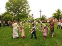 Potomac Crescent Waldorf School May Day maypole 2016