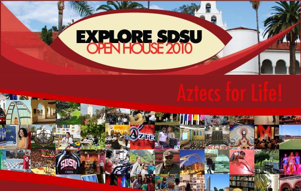 Explore SDSU Open House Web Site