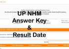 UP NHM CHO exam was successfully completed at various center of UP. You can download UP NHM CHO answer key 2021 with result date here.