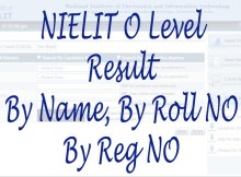 NIELIT O Level Result September 2021 By Name, By Reg No, By Roll No student.nielit.gov.in