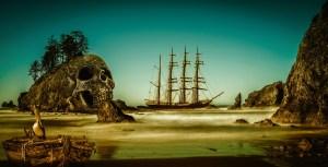 https://pixabay.com/illustrations/ship-skull-rowing-boat-pelican-6172506/