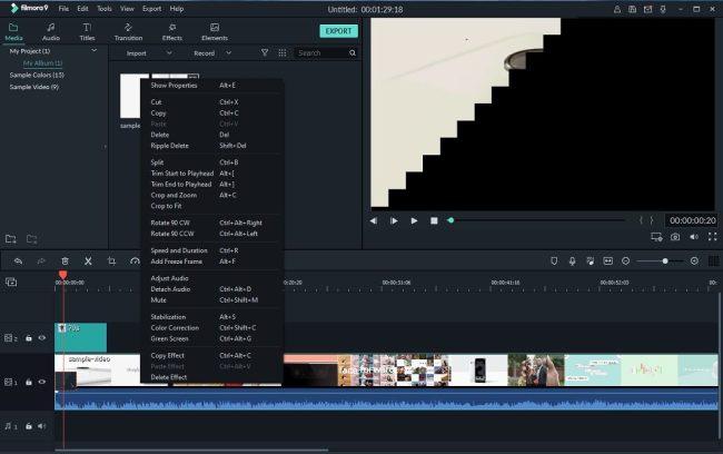 filmora-9-interface-9701462