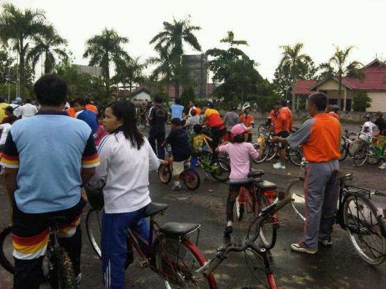 Indonesia Bersepeda, fun it is