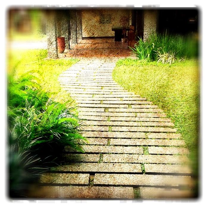 Second path on step stones
