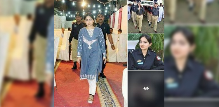 Photo of No, this Pakistani woman police officer was not shot dead