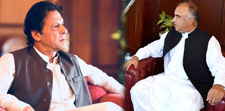 Photo of PM Imran, Governor KP talk about total political scenario