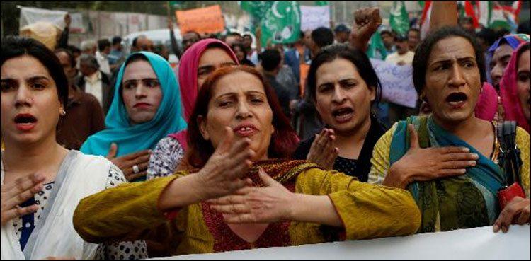 Photo of Transgenders stage protest towards Modi govt's unlawful hegemony in IoK