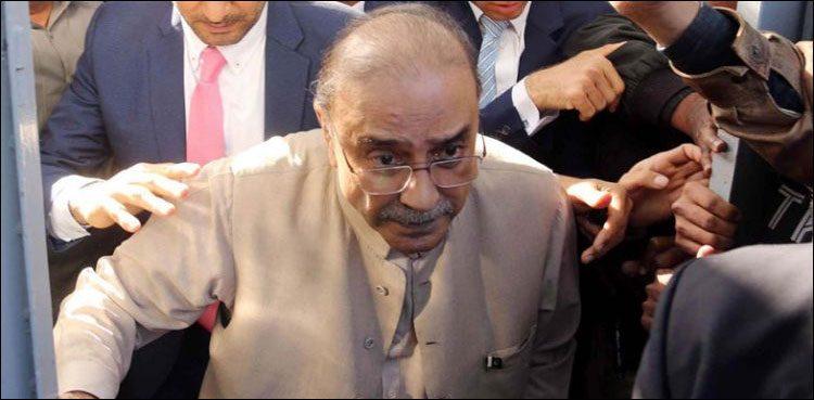Photo of Asif Ali Zardari's platelet depend drops, says PIMS hospital
