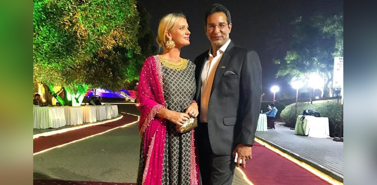Photo of Wasim Akram humorous tackle spouse Shaniera's love for desi meals