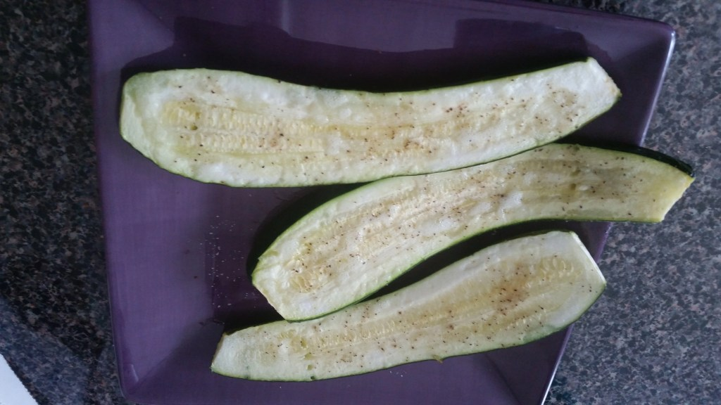 Easy Grilled Zuchinni