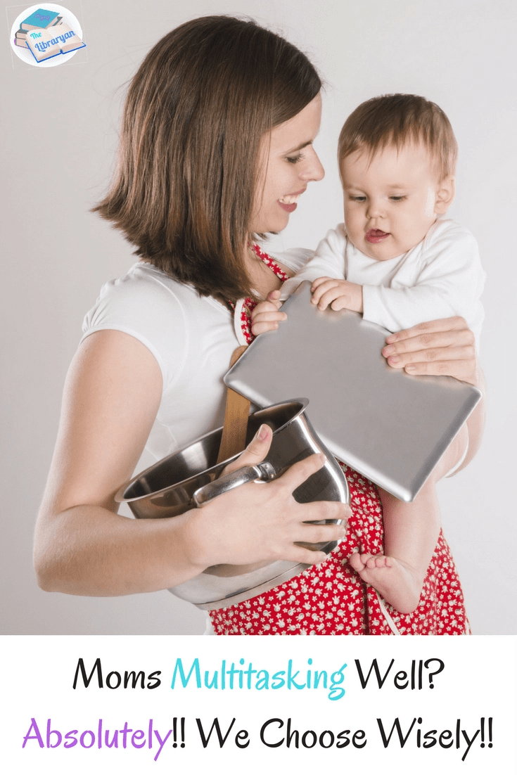 The ability to multitask well with 3 simple rules for mom