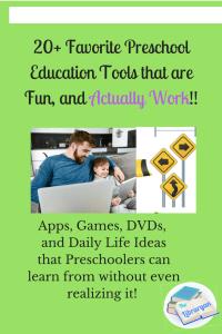Favorite Preschool Educational Resources