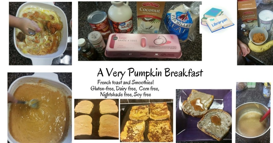 A Very Pumpkin Breakfast