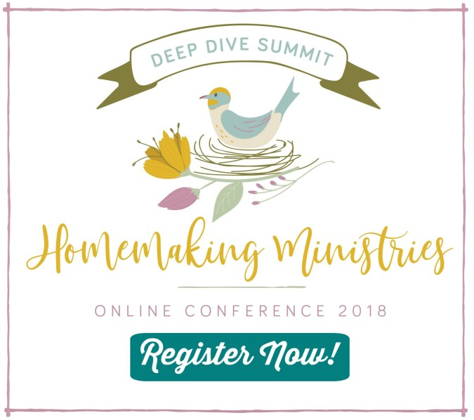 Homemaking Ministries online conference 2018