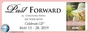 Past Forward book tour banner