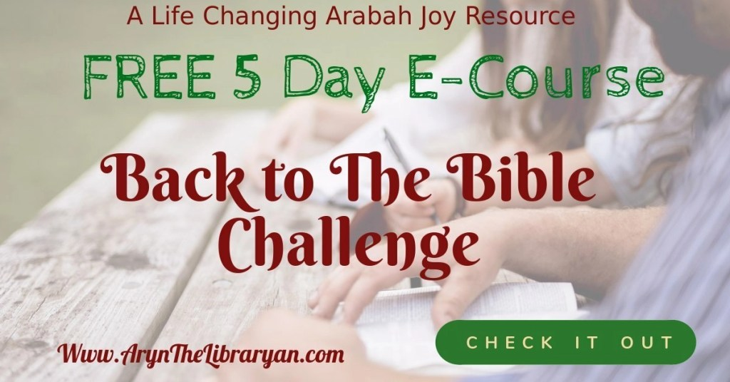 Free Back to the Bible Challenge