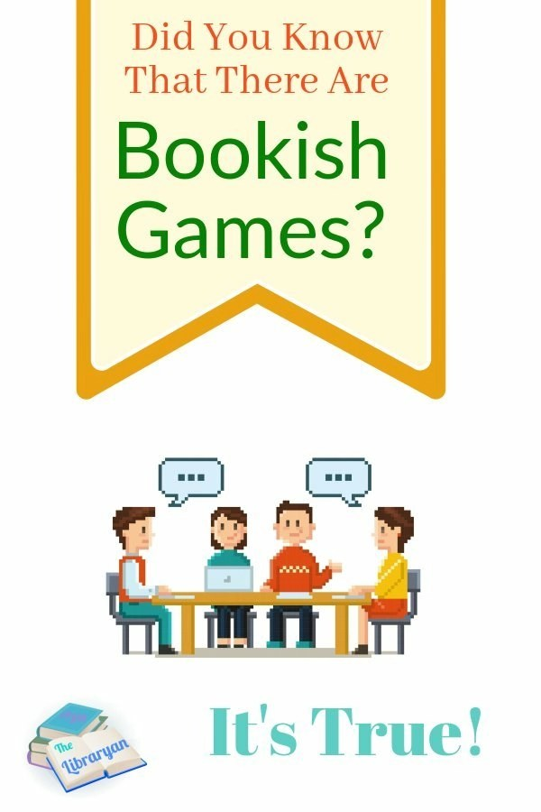 Did you know that there are bookish games? It's true, Book Games are Awesome!