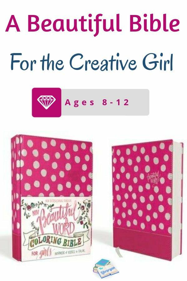 A beautiful bible for the Creative Girl. The NIV Beautiful Word Coloring Bible for Girls