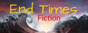 End Times Fiction (A Bible laying in front of a purple sea that's parted