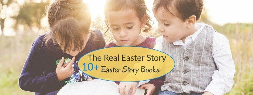 children reading, Best Easter Story books