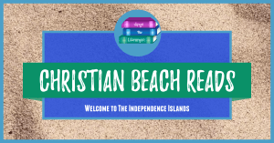 Christian Beach Reads on a sandy background