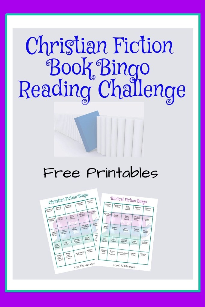Christian fiction book reading challenge bingo