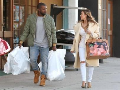 Kim-Kardashian-Carrying-Custom-Hermes-Bag-From-Kanye-West
