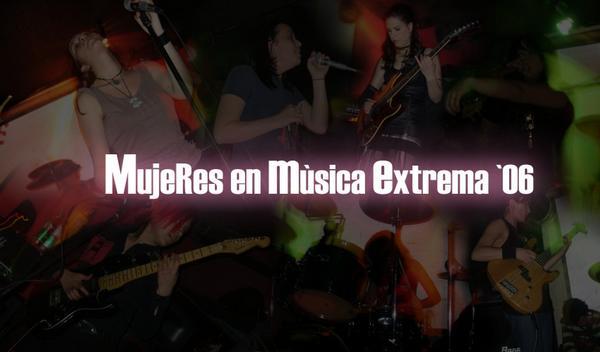 Mujeres en Música Extrema: la apuesta (1/3)