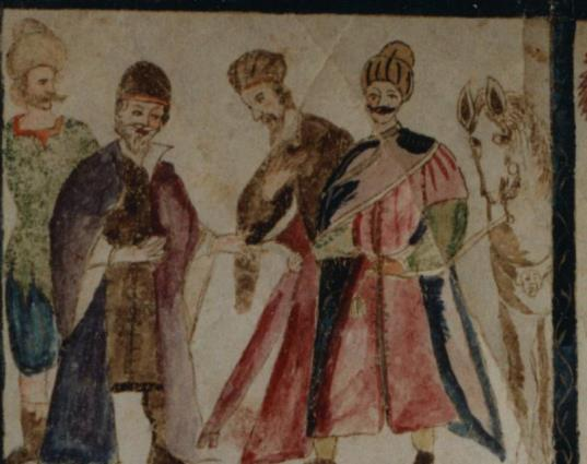 346 Haman reçoit l'ordre d'honorer Mardochée