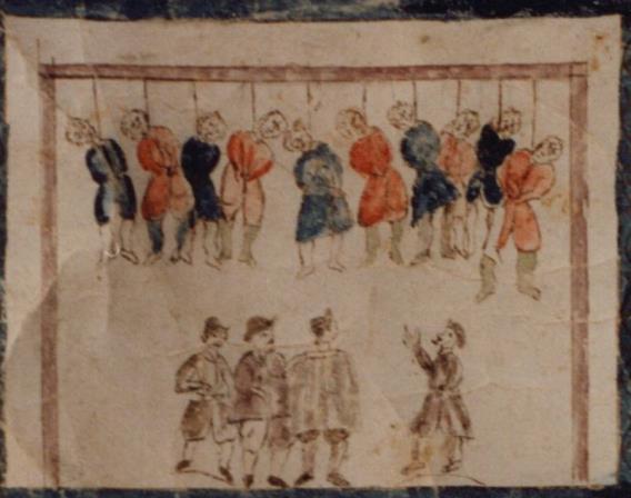 352 Pendaison des dix fils d'Haman